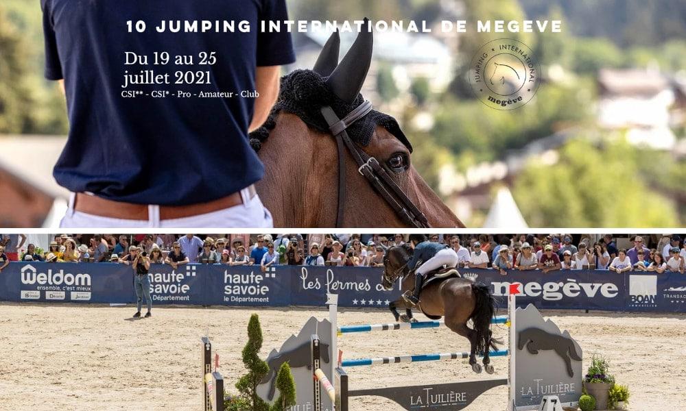 Le Grand Hôtel du Soleil d'Or et Millésime s'associent au Jumping International de Megève !