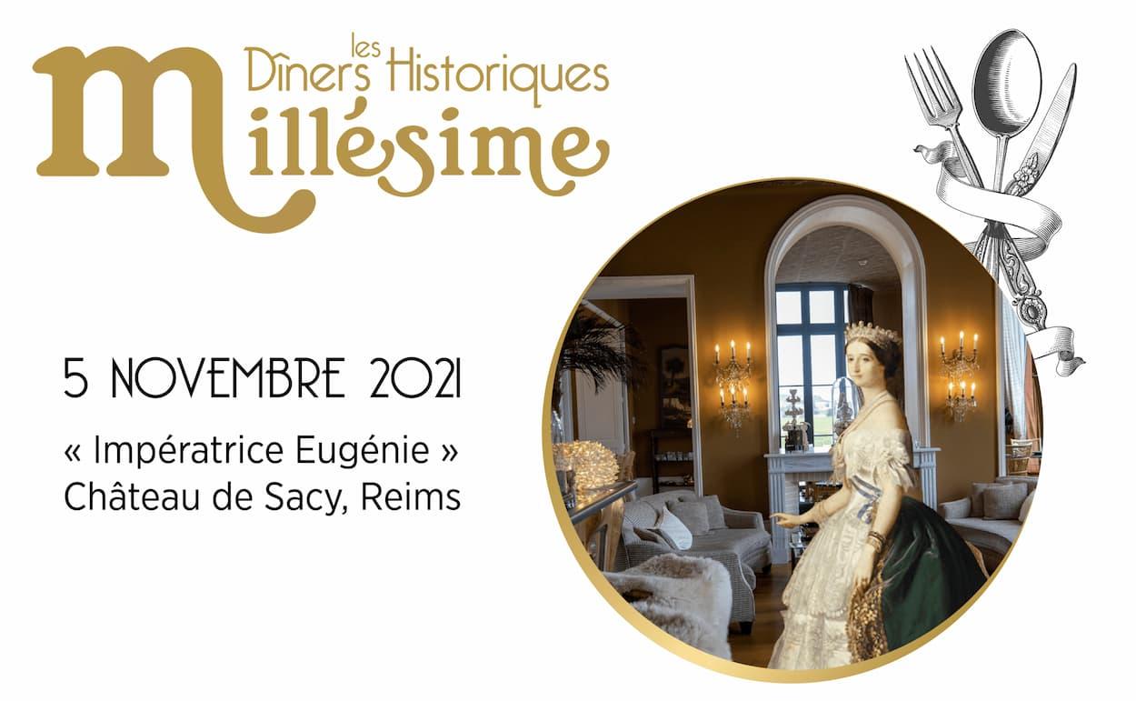 Save the date : le Dîner Historique au Château de Sacy