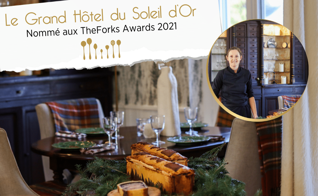 The ForkAwards  : Soutenez en 1 clic la Cheffe du Grand Hôtel du Soleil d'Or